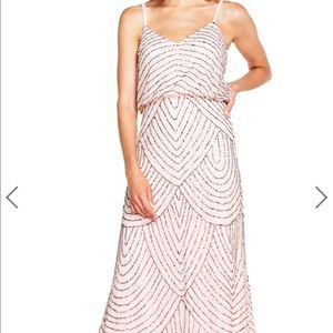 Adrianna Papell Blush Dress
